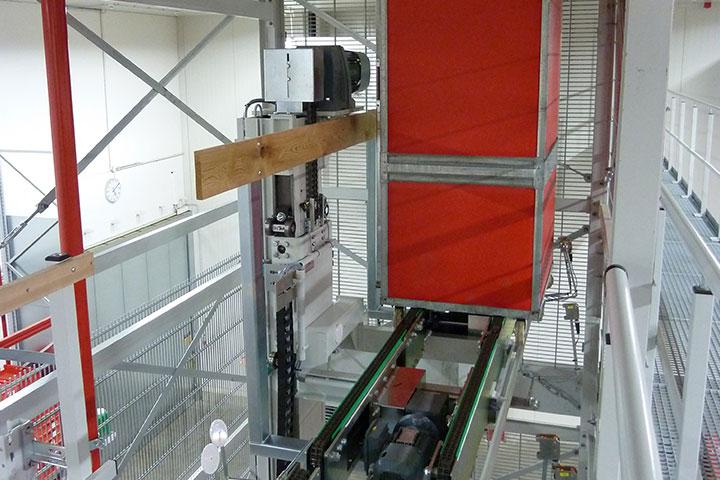 Senkrechtförderer TKT-Behälter
